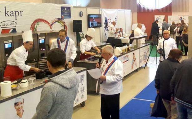 Na Gastrofestu v Českých Budějovicích se uskutečnil již 13. ročník soutěže Český kapr